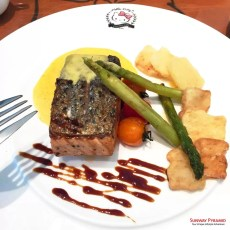 Sunway Pyramid Hello Kitty Cafe Grilled Salmon