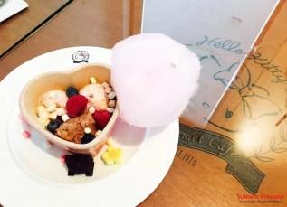 Sunway Pyramid Hello Kitty Cafe Nepolitan Ice Cream