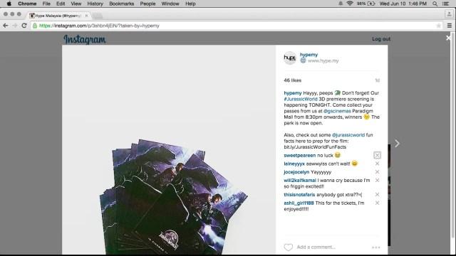 Instagram Web Layout