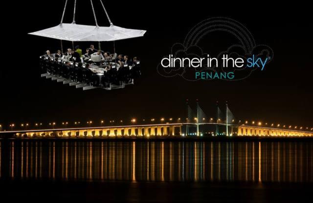 Dinner in the Sky Penang