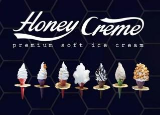 Honey Creme Ice Crema Flavours