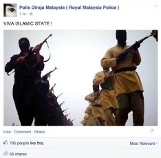 PDRM Facebook Page Hacked 5