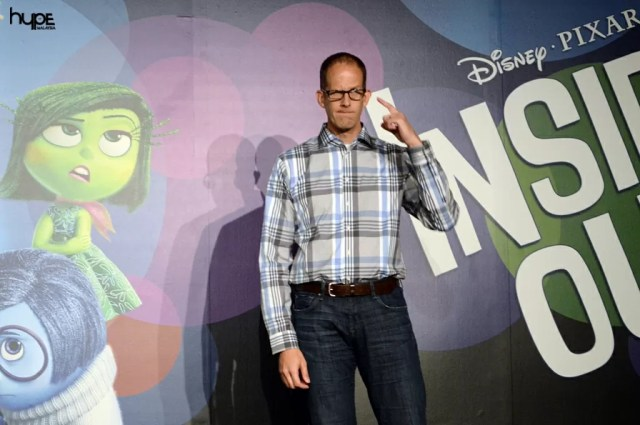Disney Pixar Inside Out Director Pete Docter