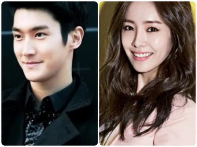 L-R: Choi Siwon & Han Ji Min
