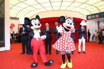 Mickey_Minnie joined the ribbon cut 1