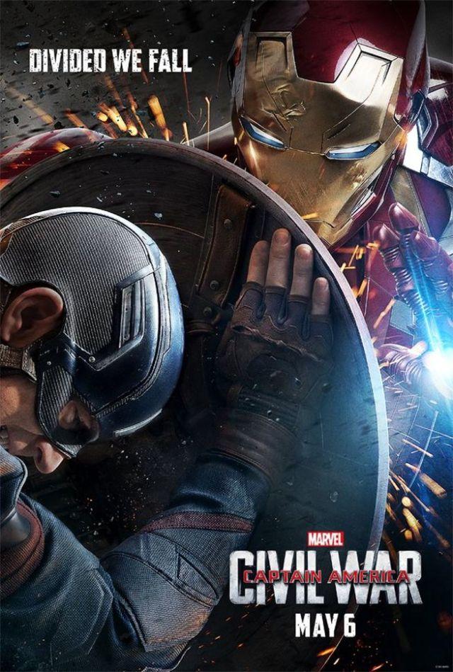 Captain America Civil War Poster 2015