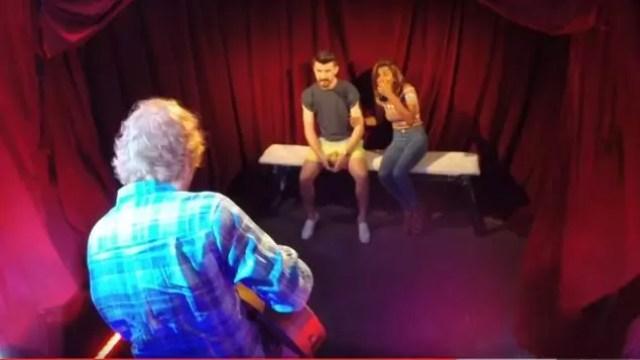 Ed Sheeran Live Peep Show Experiment
