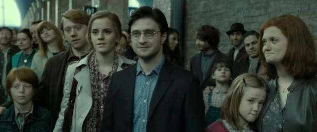 Harry Potter Deathly Hallows End