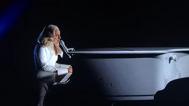 Lady Gaga Oscars 2016 Til It Happens To You Performance