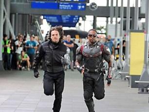 Captain America Civil War Falcon Winter Soldier