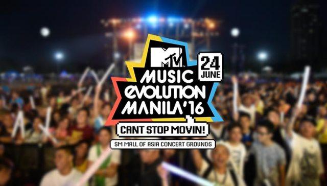2016 MTV Music Evolution Manila
