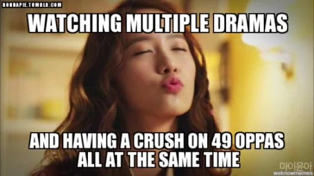 Multiple K-Drama Meme