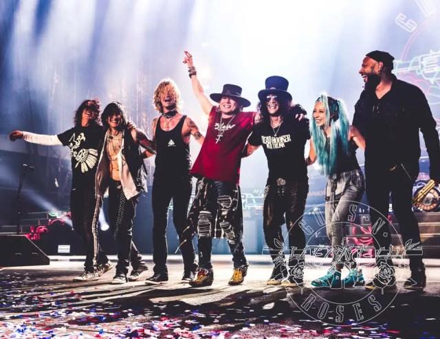 Source: Guns N' Roses' Facebook Page