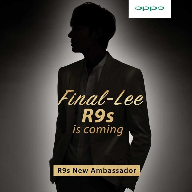 OPPO R9s Ambassador Final-LEE