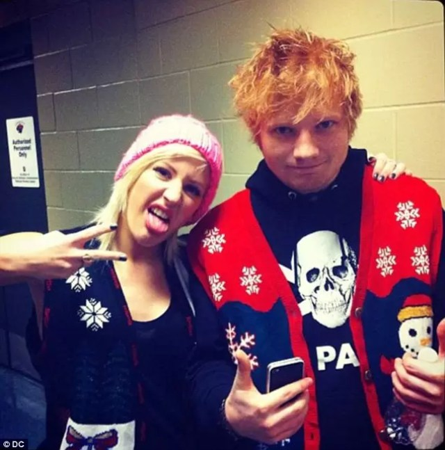 Ed Sheeran Ellie Goulding