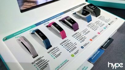FItbit Fitness Tracker Range