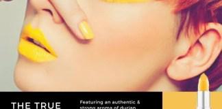 Durian-Flavoured Lipstick