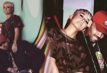 Chris Brown Agnez Mo