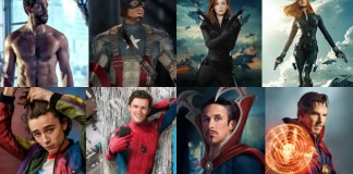 Hollywood Stars Avengers