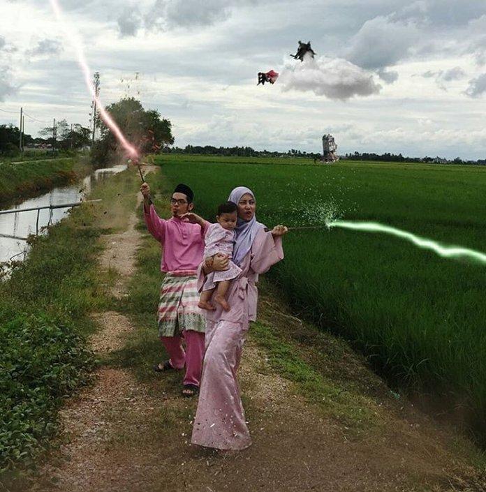 Movie-Themed Raya Photos