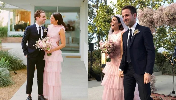 Mandy Moore Wedding.Mandy Moore Taylor Goldsmith S Wedding Is A Walk Down The
