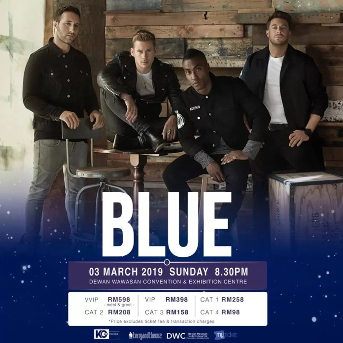 Yay! 90s UK Boyband Blue Set To Bring 2019 Tour To Kuala Lumpur