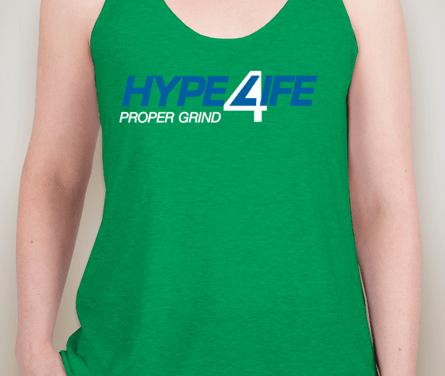 Hype4Life Women's Tank (GREEN)(triblend)
