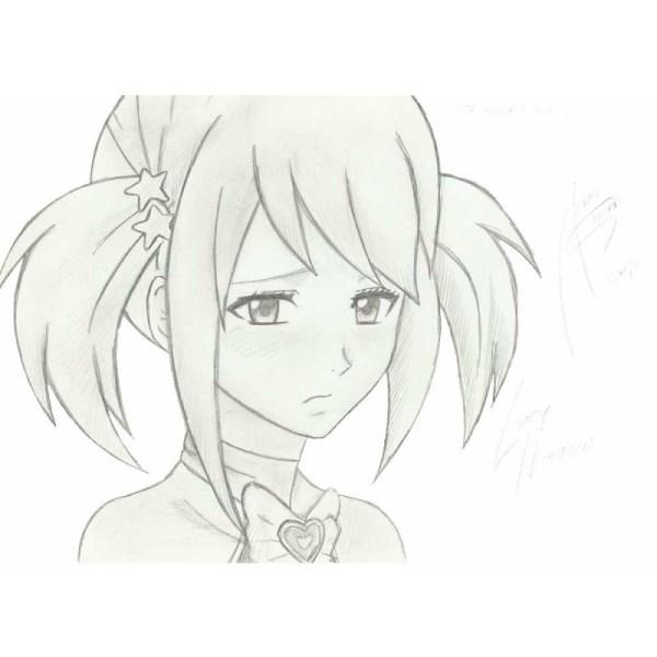 Грустные картинки аниме для срисовки девочкам » Портал ...