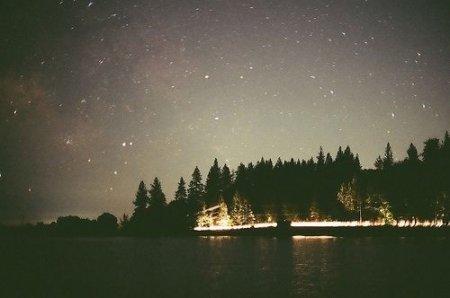 Скачать фото ночного неба на заставку телефона » Портал ...