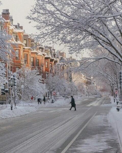 Фото городов в снегу на заставку телефона » Портал ...