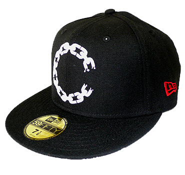 crooks castles chain c new era 59fifty cap
