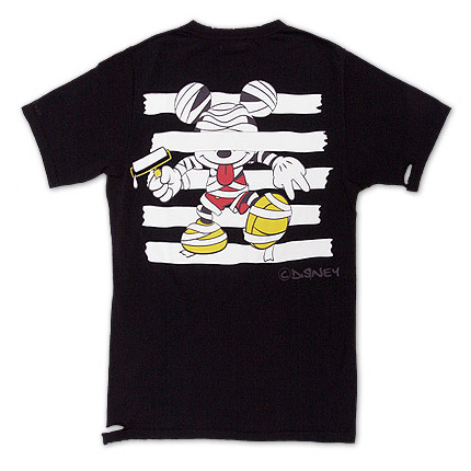 disney x roen halloween mickey t shirt