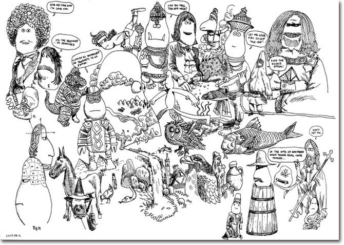 selected drawings james jarvis