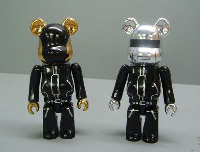 medicom toy bearbrick daft punk 2007