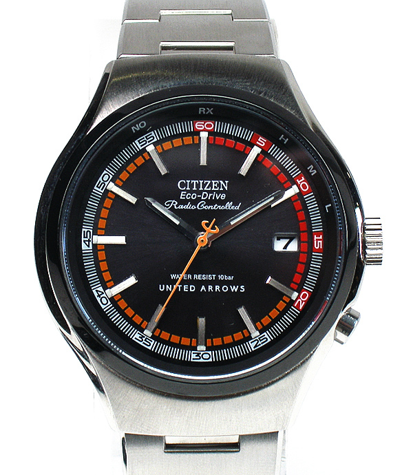 united arrows x citizen alterna eco drive