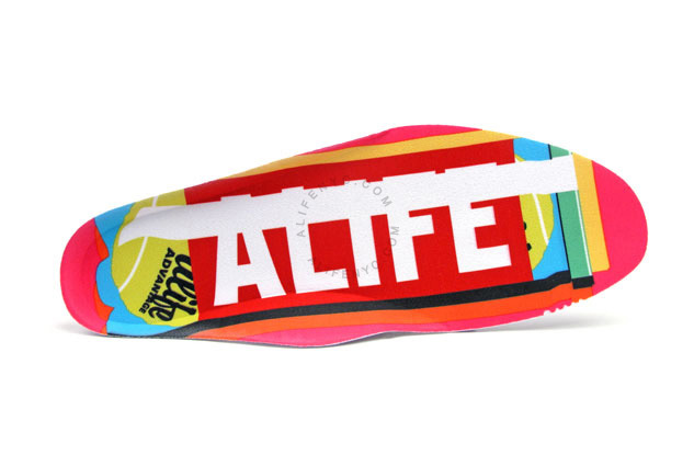 alife x reebok court victory black pink ball out