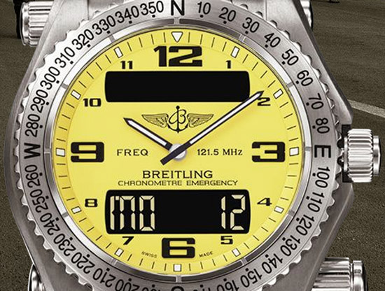 breitling emergency collection