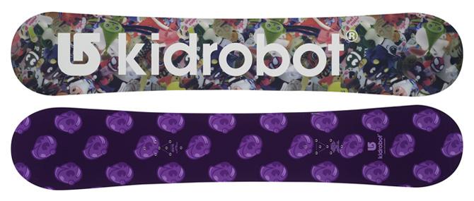 kidrobot x burton custom plus 158 snowboard