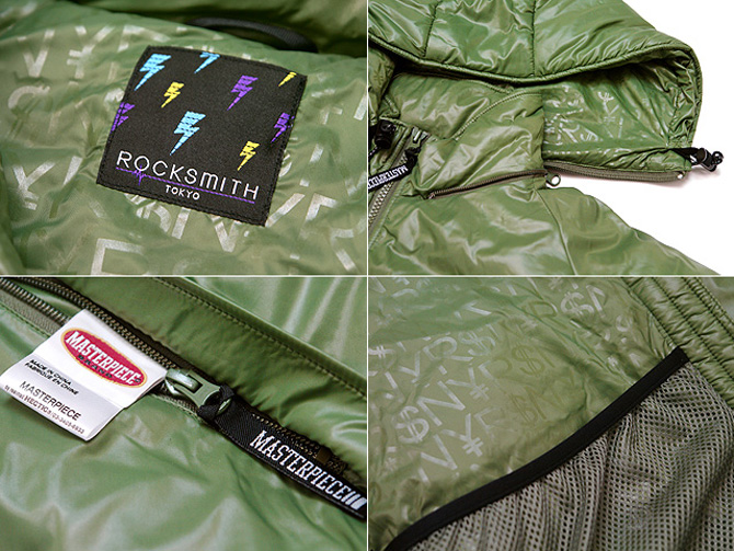 masterpiece x rocksmith lightweight jacket