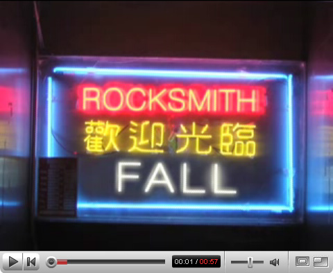 rocksmith 2007 fall collection video look book