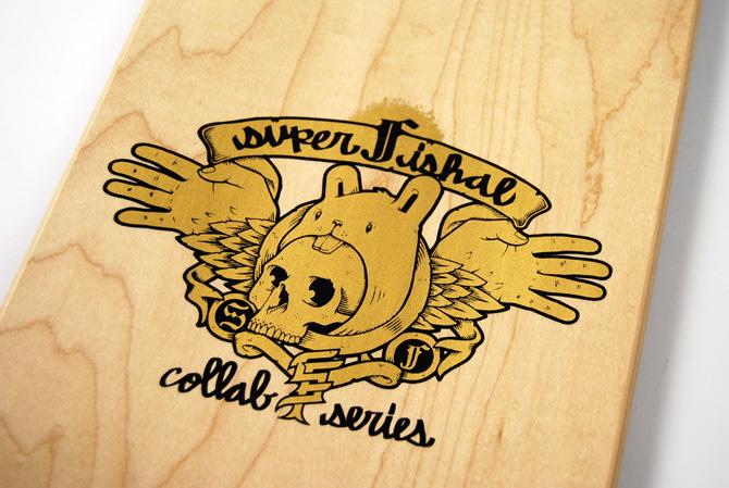 superfishal 2007 fall collab series skateboard decks