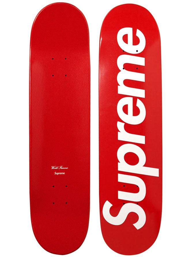 supreme logo skateboards