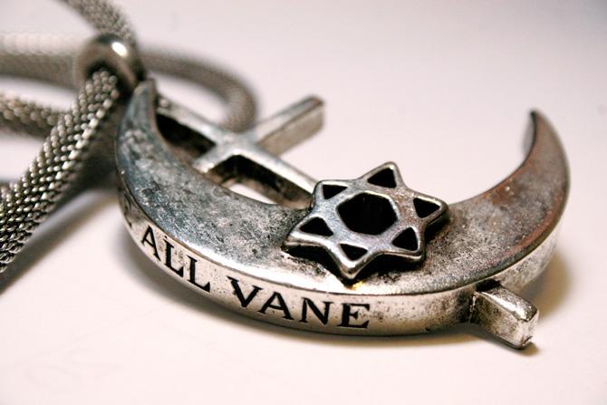 vane we are all vane pendant