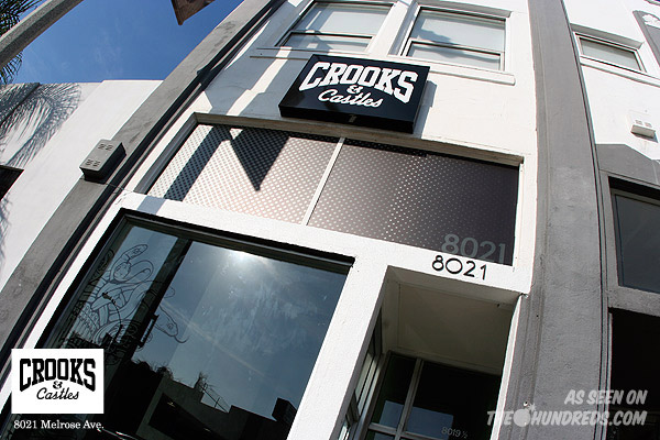 crooks castles store opening