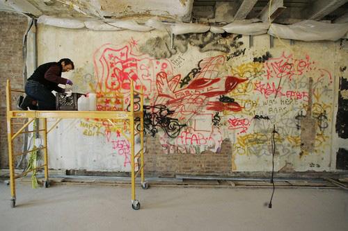historic grafitti soho