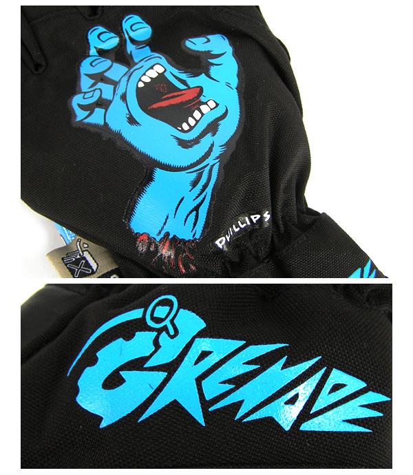 jim phillips x grenade gloves screaming blue