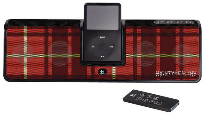 mighty healthy x logitech ipod speakers