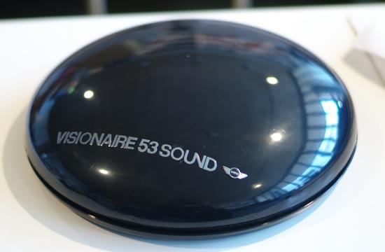 mini clubman x visionaire 53 sound
