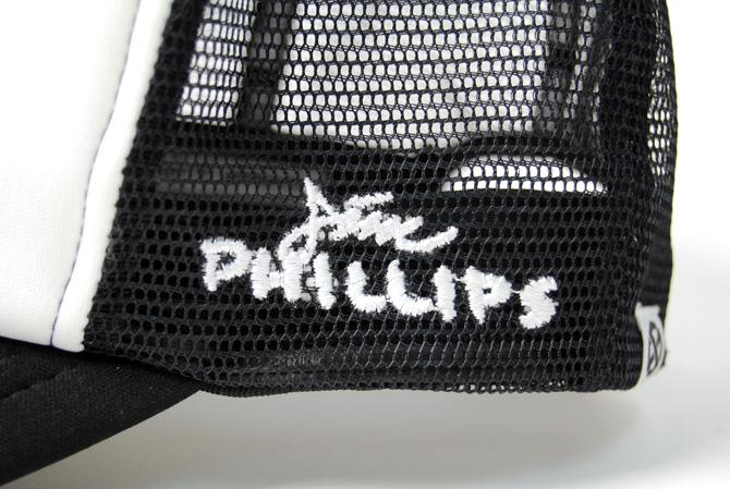 jim phillips x made monsters eyeball mesh trucker cap