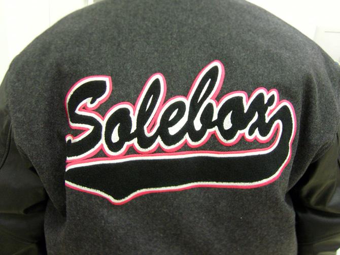 solebox x trainerspotter varsity jacket